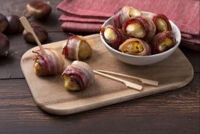 Ricetta Bocconcini di castagne e bacon