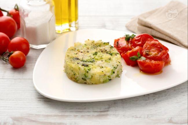 Medaglioni di merluzzo e broccoletti