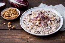 Ricetta Risotto radicchio e gorgonzola