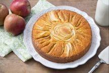 Ricetta Torta di mele a raggi