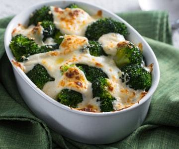 Broccoli gratinati