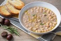 Ricetta Zuppa di ceci e castagne
