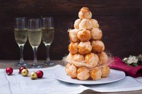 Ricetta Croquembouche di Natale