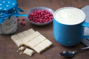 Cioccolata calda bianca