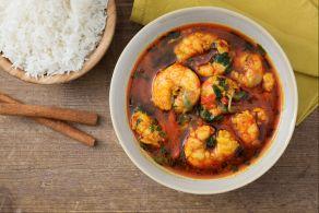 Ricetta Curry di gamberi