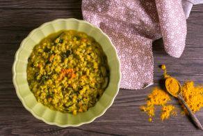 Ricetta Zuppa d'orzo verdure e curcuma