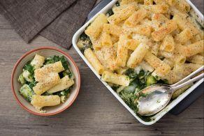 Ricetta Pasta gratinata con gli spinaci