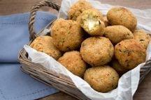 Polpette di quinoa, zucchine e stracchino