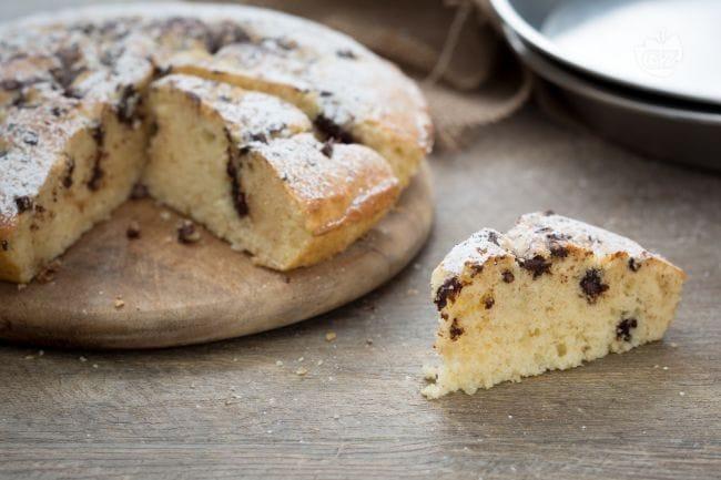 Ricetta torta alla ricotta e cioccolato la ricetta di - Cucina giallo zafferano ...