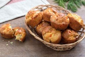 Ricetta Muffin ai peperoni