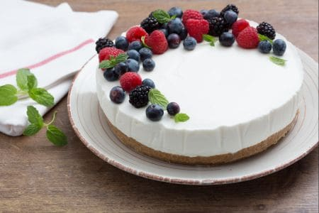 Torta semifreddo allo yogurt ricetta