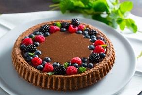 Ricetta Crostata morbida al cioccolato
