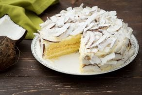 Ricetta Torta cocco e limone