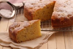 Ricetta Torta morbida ricotta e pere