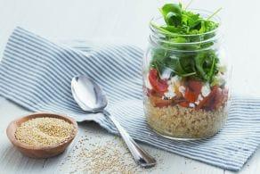 Ricetta Quinoa melanzane e menta