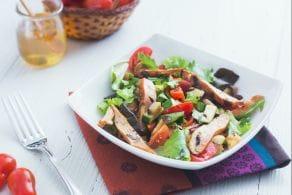 Ricetta Insalata di pollo e zucchine