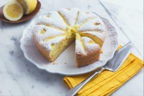 Ricetta Torta con crema al limone