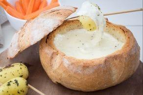 Ricetta Pagnotta con formaggio fuso