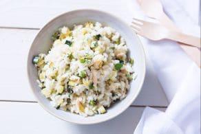 Ricetta Riso freddo con tonno, zucchine e limone