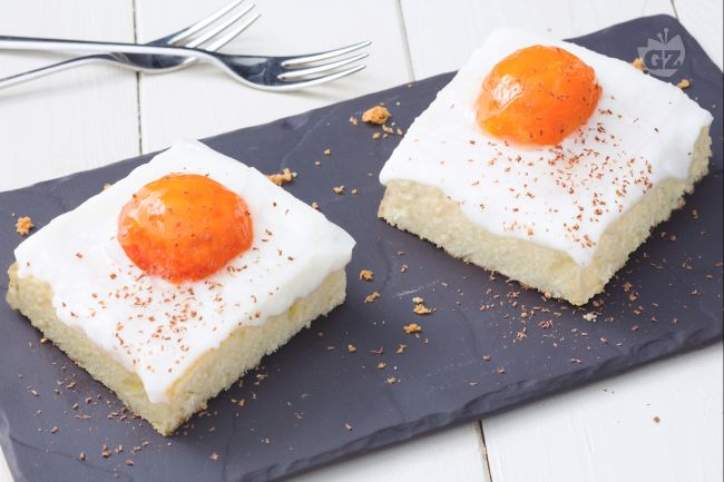 Torta con albicocche fresche