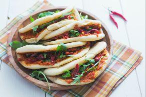 Ricetta Pita con hummus di pomodori secchi
