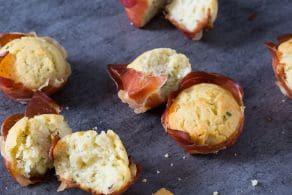 Ricetta Mini muffin salati ricotta e speck