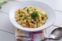 Minestra di pasta ceci e broccoli