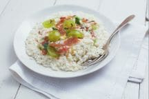 Risotto all'uva