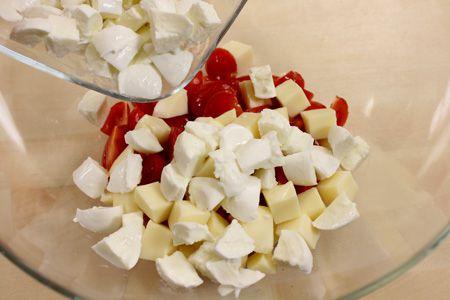 Ricetta pasta alla checca le ricette di for Piatto tipico romano