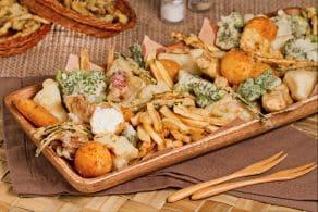 Ricetta Fritto misto di verdure e formaggi