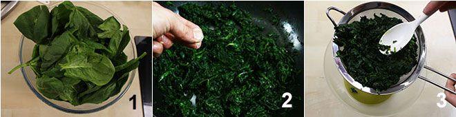 Sformatini di spinaci