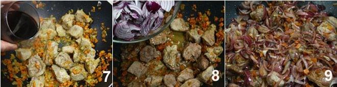 Spezzatino di carne con cipolle