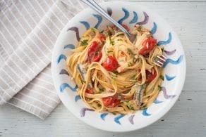 Ricetta Pasta con pomodorini e alici