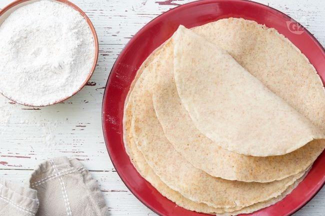 Ricetta crepes farina di farro