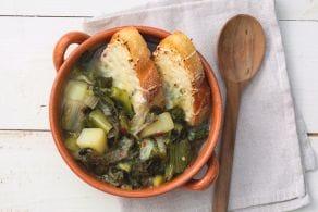 Ricetta Zuppa di scarole e patate