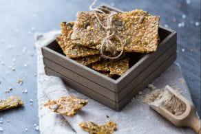 Ricetta Crackers al teff