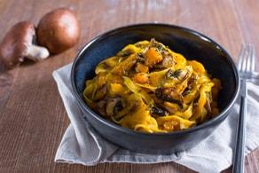 Ricetta Pasta zucca e funghi