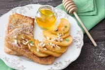 French toast alle mele