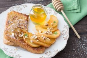 Ricetta French toast alle mele