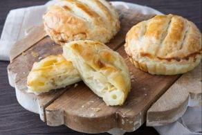Ricetta Mini pie salate di formaggio e mele