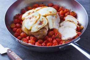 Ricetta Petto di pollo al forno con scamorza