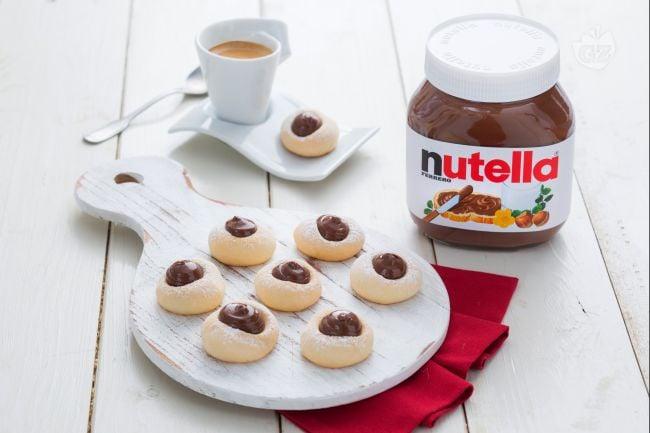 Biscottini di riso con Nutella®
