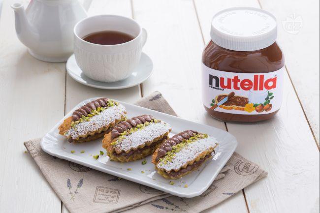 Tortini ai pistacchi con Nutella®