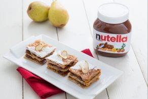Ricetta Sfogliatine di pere con Nutella®