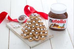 Ricetta Alberello di biscotti e Nutella®