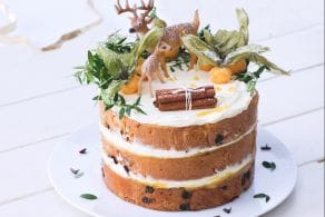 Woodland cake di panettone