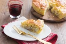 Torta salata di finocchi