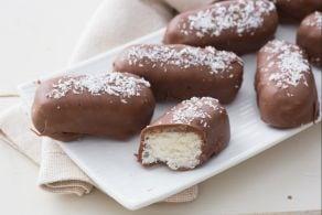 Ricetta Barrette cocco e cioccolato