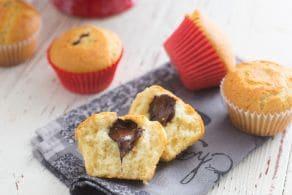 Ricetta Muffin con il cuore