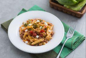 Ricetta Pasta verza e salsiccia